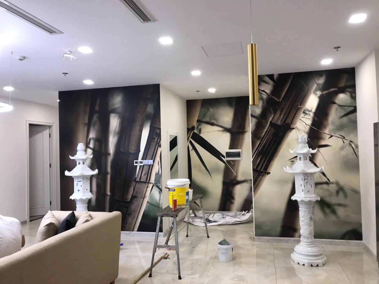 Tranh Dán Tường 3D Nghệ Thuật